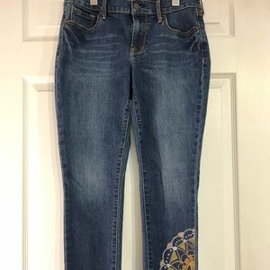 Handpainted Old Navy - Original Mid-Rise